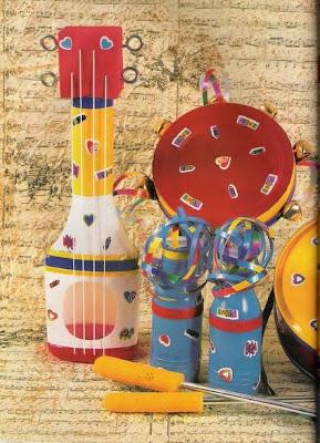 Sonosfera secundaria taller de instrumentos musicales for Instrumentos de cocina