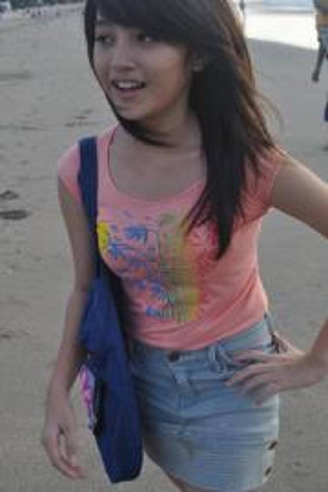 Blog Foto Nabila Jkt48 Sepatu Wanita Voltus Mia Maroon