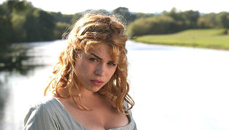 Billie Piper as Fanny Price in ITV's Mansfield Park (2007)