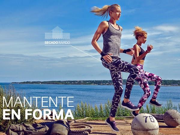 moda deportiva mujer H&M