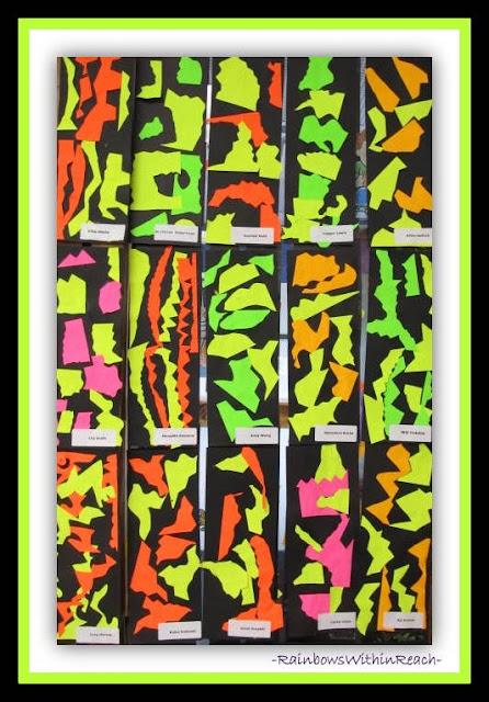 Matisse in Elementary School via RainbowsWithinReach