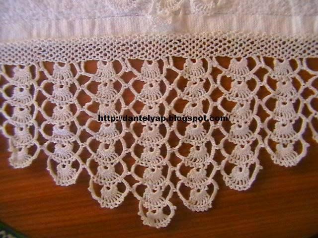 havlu dantelleri,dantel örnekleri