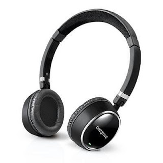 New Creative Labs Wp 300 Bluetooth Headphone Apt X Bluetooth Audio Technology Neodymium Drivers