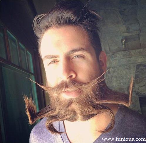 Funny Awesome Beard