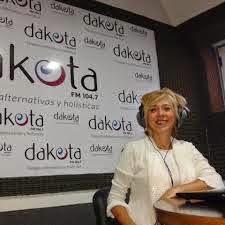 Olga Cisnero en la Radio