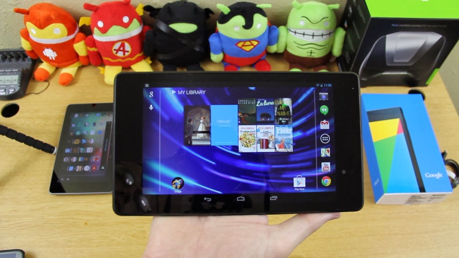Rumor: Google torn between Asus, LG and HTC for 2014 Nexus 7 tablet