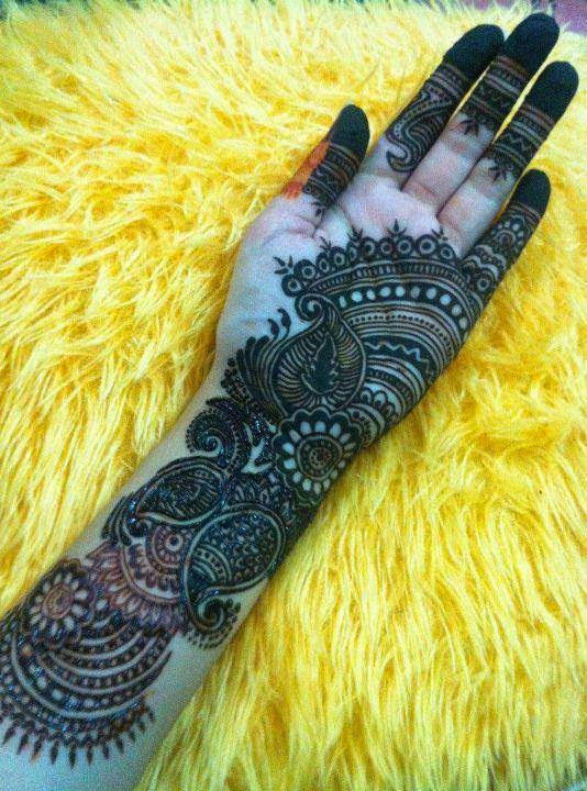 Mehndi designs for full hand