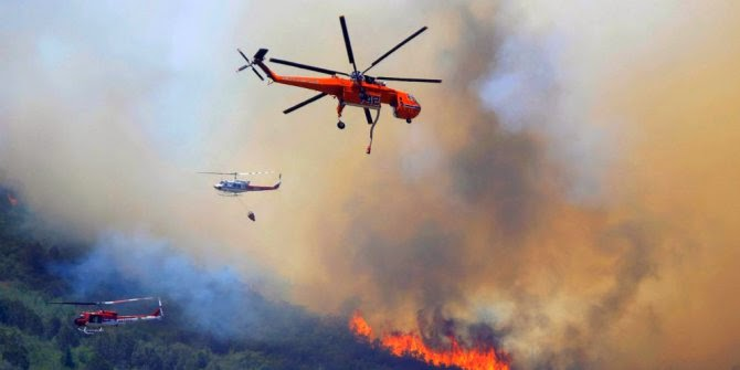 Foto Bencana Alam Kebakaran Riau Tahun 2014