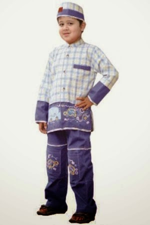Gambar busanan muslim anak ala nizam