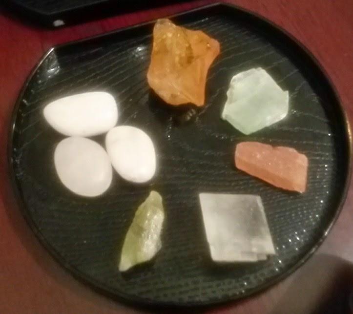 green, mangano, honey, green, red, iceland spur calcite