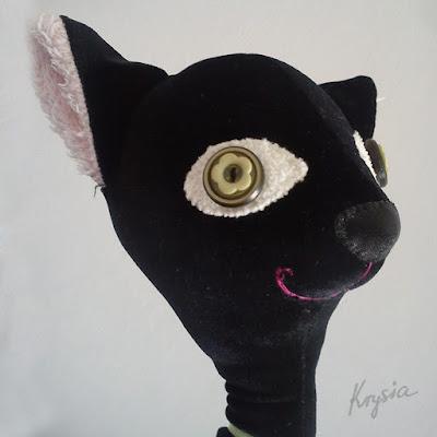 maskotka personalizowana - kot na zamówienie