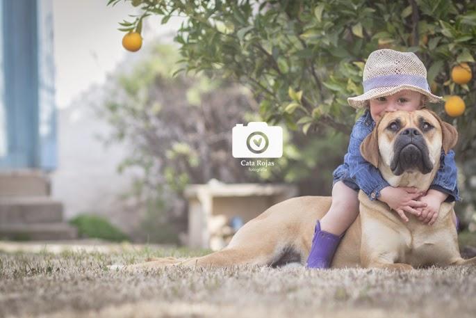 fotografía infantil en el campo