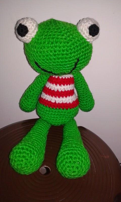 Crochet Amigurumi Blogs : Crochet pattern Frog Amigurumi ~ Free Crochet Patterns