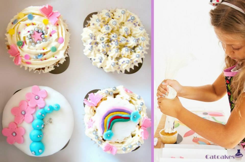 Curso cupcakes para niños