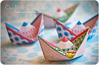 Reciclatex Los caramelos del cumpleaños vienen en barco