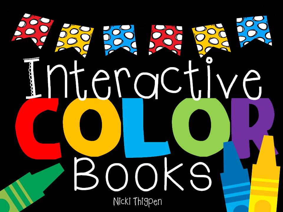 http://www.teacherspayteachers.com/Product/Interactive-Color-Word-Books-1434553