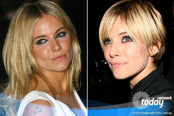 Sienna Miller Short Hairstyles. sienna miller short hair 2010.