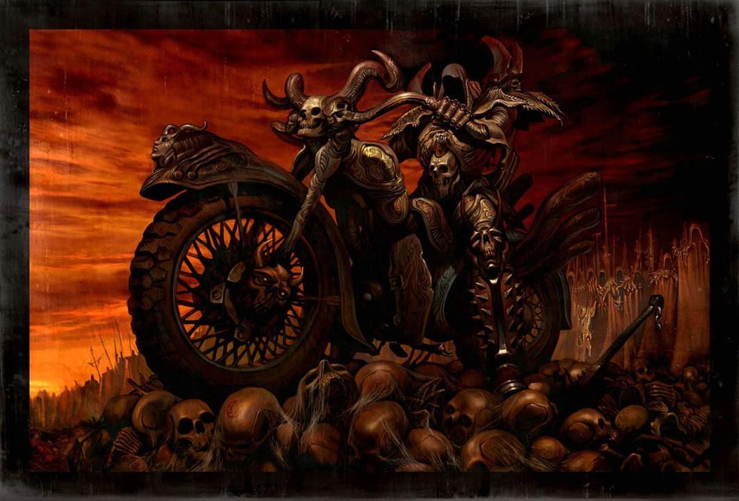 Your Death Dark Gothic Wallpaper