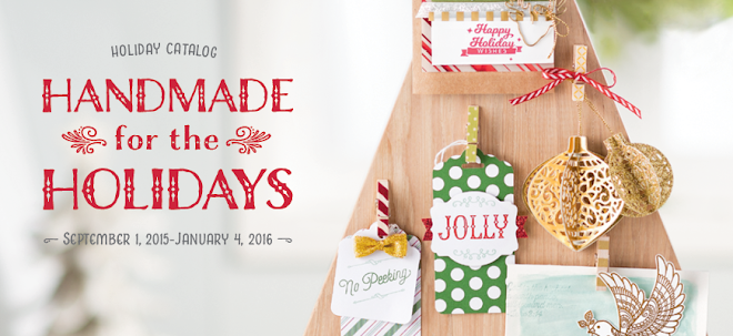 Stampin Up! New Holiday Catalog