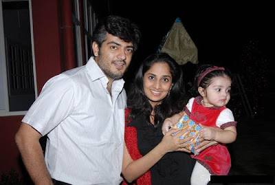 Actor Ajith and Shalini Photo Album