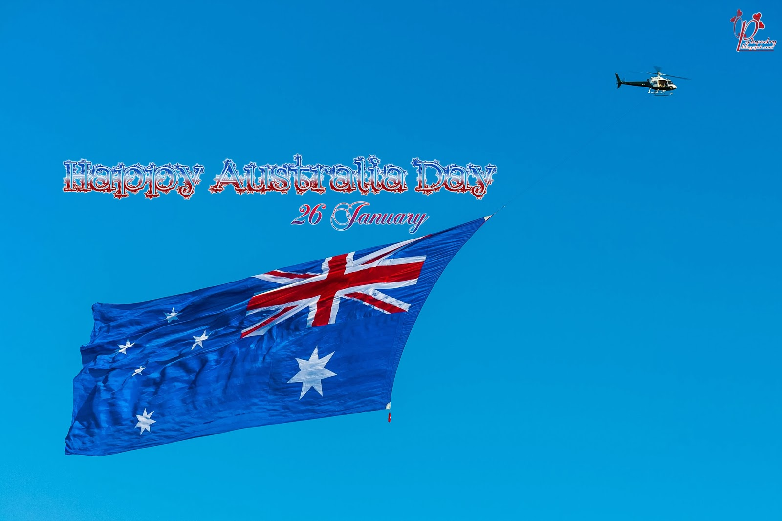 Australia-Day-26 -January-Walpaper-Flag-Wide