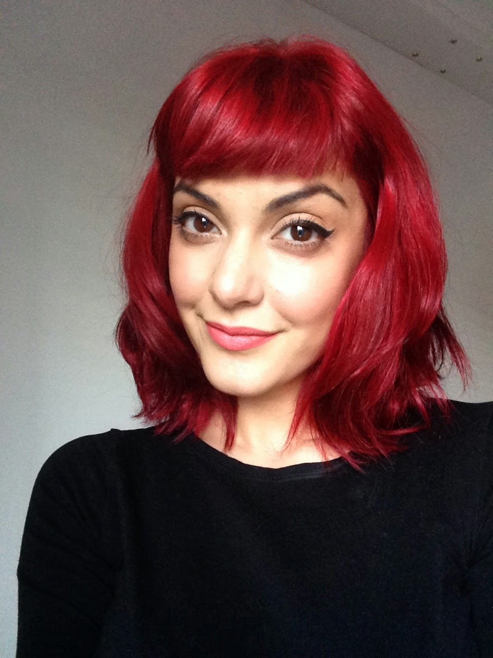 How I Turned My Brown Hair Bright Red Krystle Tips