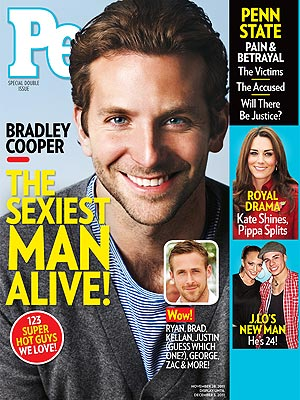 Jennifer Lopez hook-up Bradley Cooper nabbed the #1 spot this year, ...