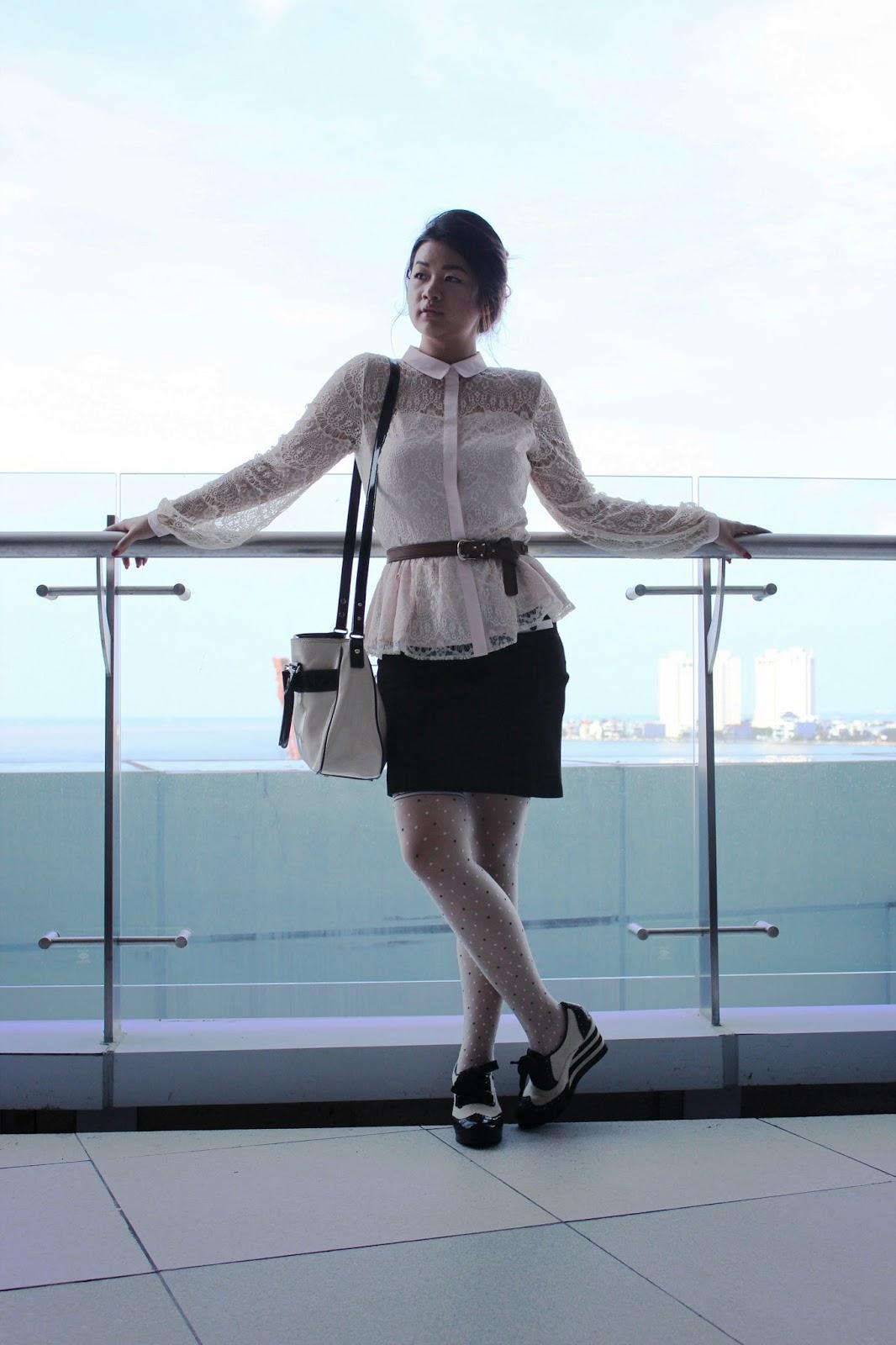 miss selfridge shirt, lace shirt, fashion blog, blogging