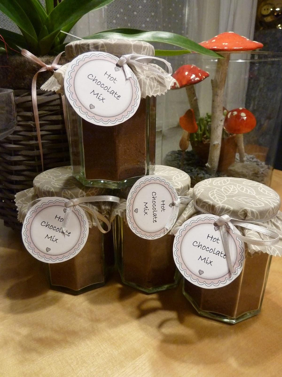sabi 39 s werkstatt weihnachtsgeschenke hot chocolate mix. Black Bedroom Furniture Sets. Home Design Ideas