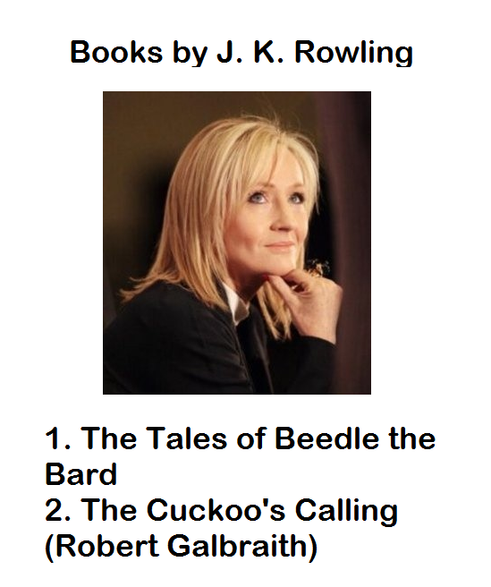 GK - Books by J.K.Rowling