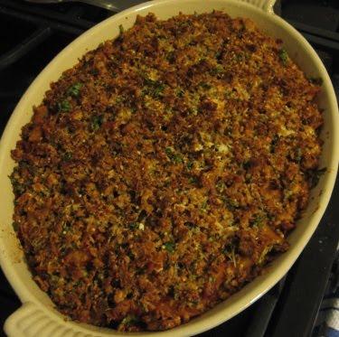 crispy gratin topping