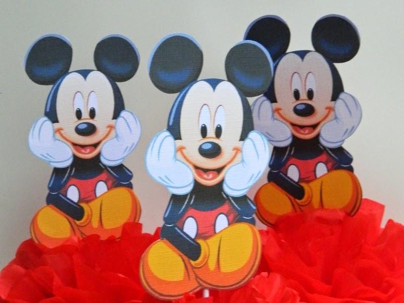 Centros de mesa: Mickey Mouse