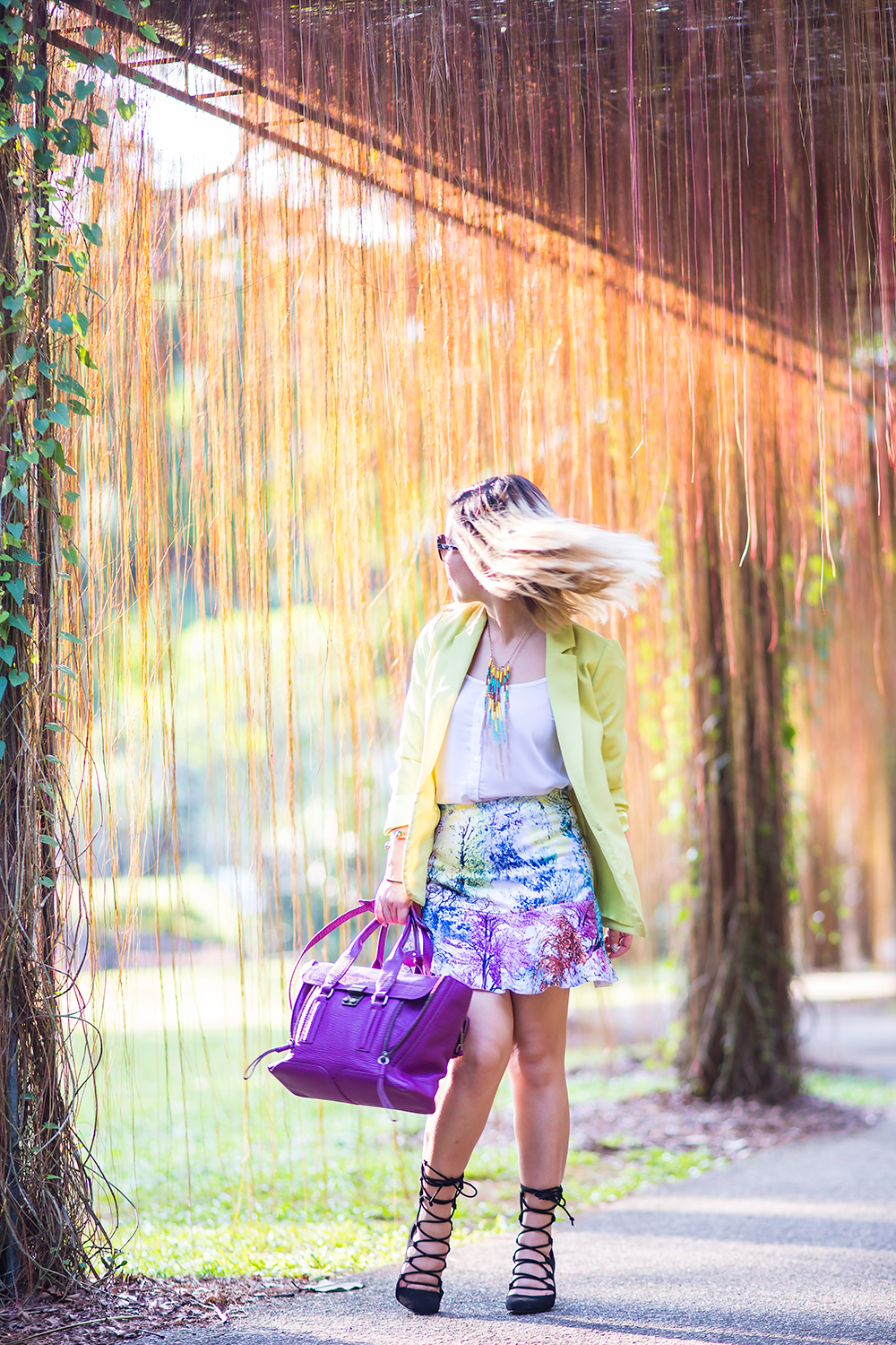Crystal Phuong- Singapore Fashion Blog- A walk in Botanical Gardens
