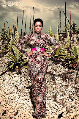 >Malinda Williams en couv' de Denim Magazine