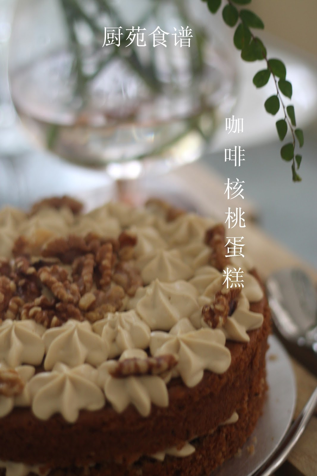 Delia Smith Coffee Walnut Cake
