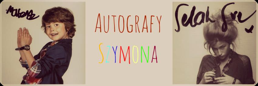 Autografy Szymona