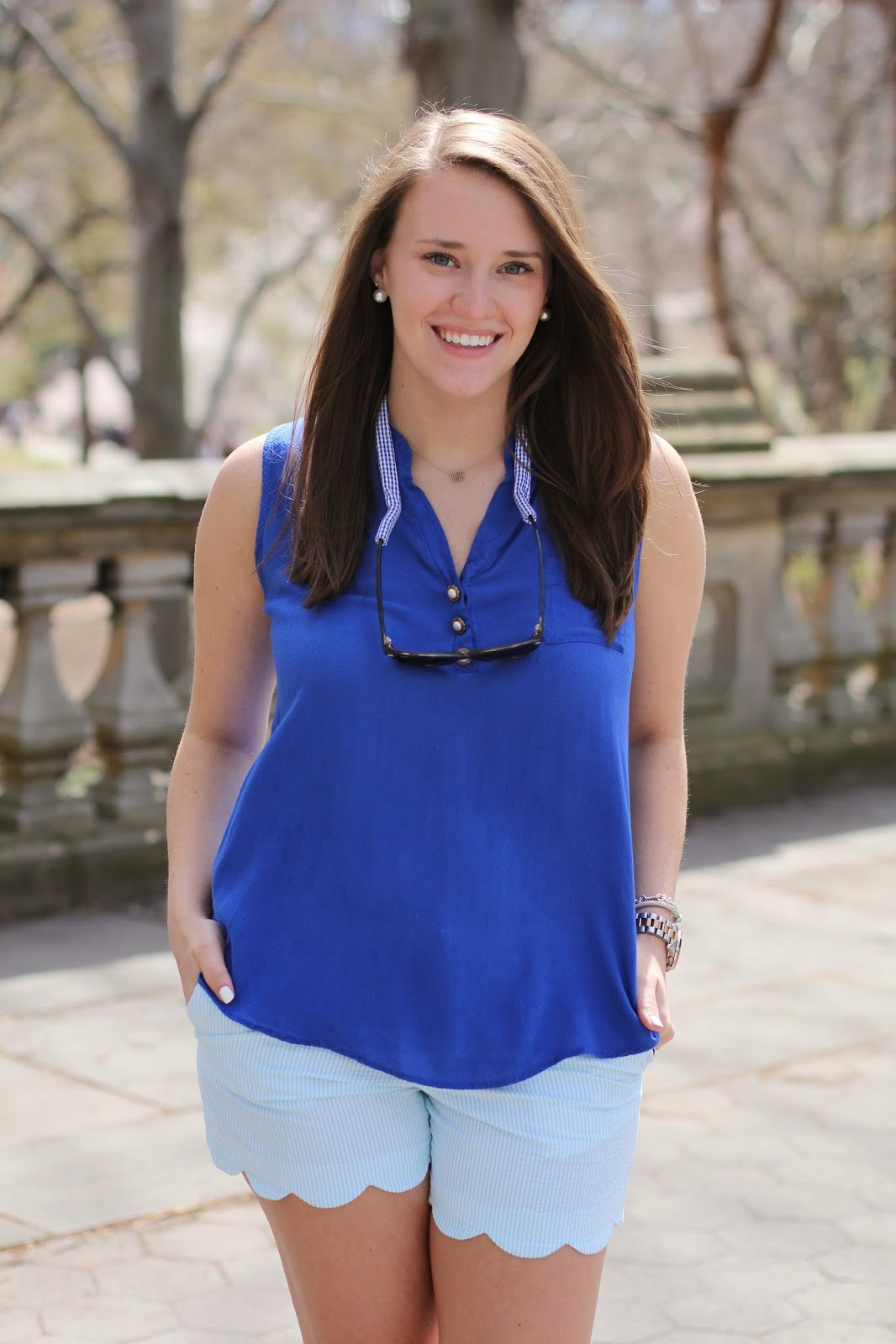 krista robertson, covering the bases, fashion blogger, southern preppy blogger