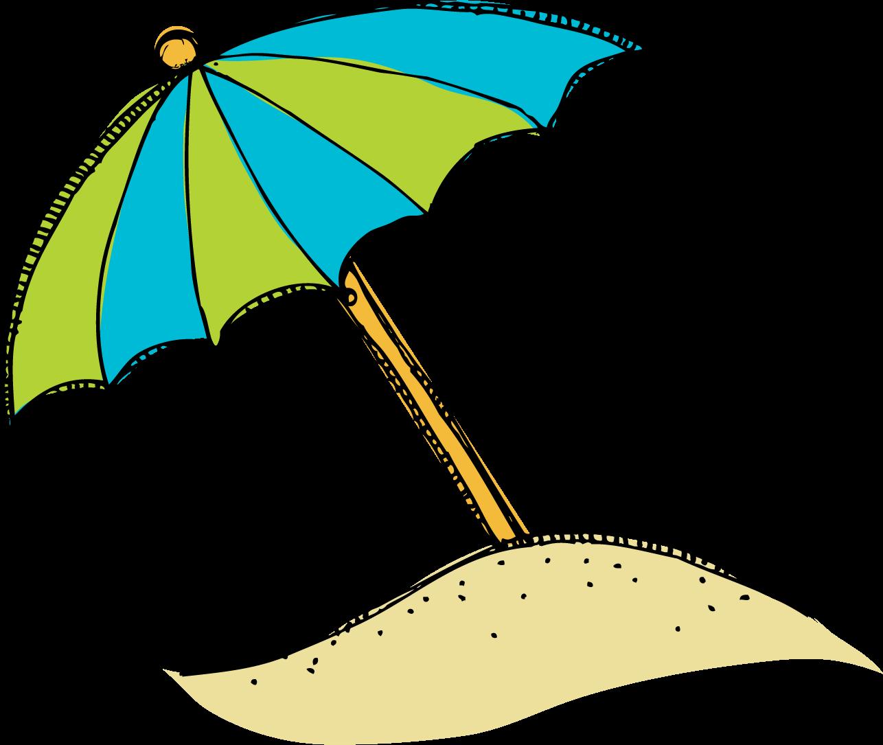 Clipart Beach Umbrella - Viewing Gallery