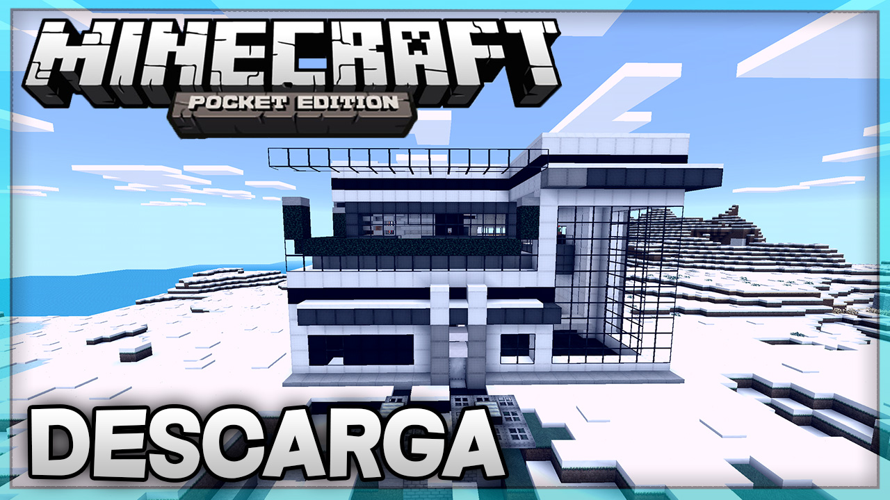 Descarga casa moderna para minecraft pe super casa 7 for Casa moderna minecraft 0 12 1