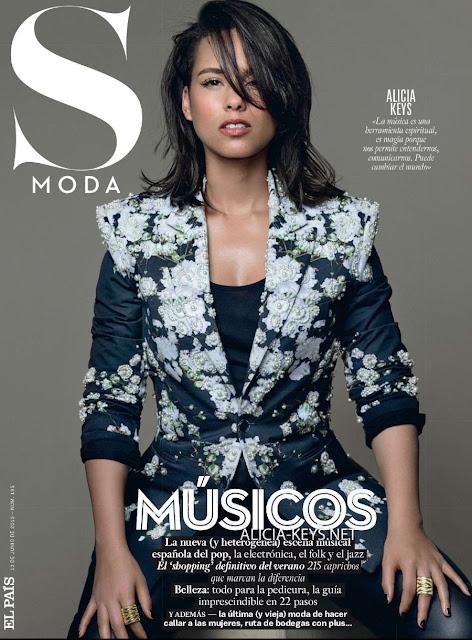 Musician, Actress, Singer @ Alicia Keys - S Moda June 2015