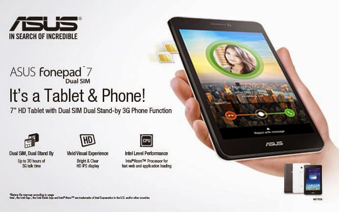 Price list 2015 asus android smartphones and tablets for O tablet price list 2014