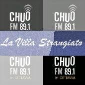 La Villa Strangiato, CHUO 89.1 FM - Playlists