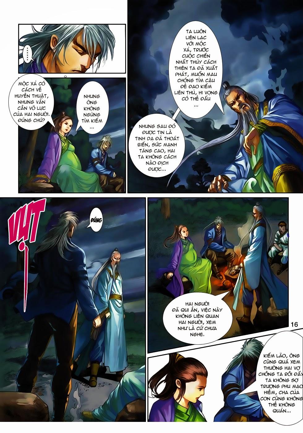 Thần Binh Tiền Truyện 4 - Huyền Thiên Tà Đế chap 14 - Trang 16