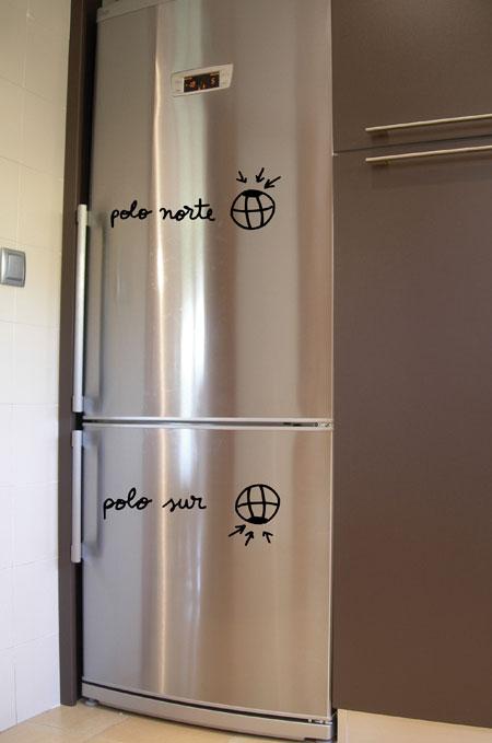 Arte y vinilos baratos adhesivos para cocinas for Vinilos adhesivos para frigorificos