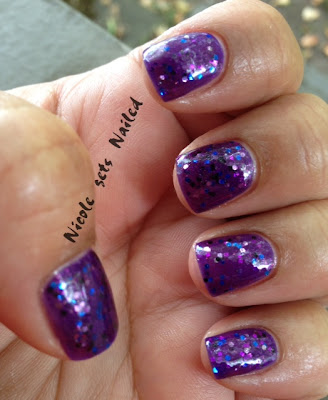 Purple Jelly Sandwich Glitter