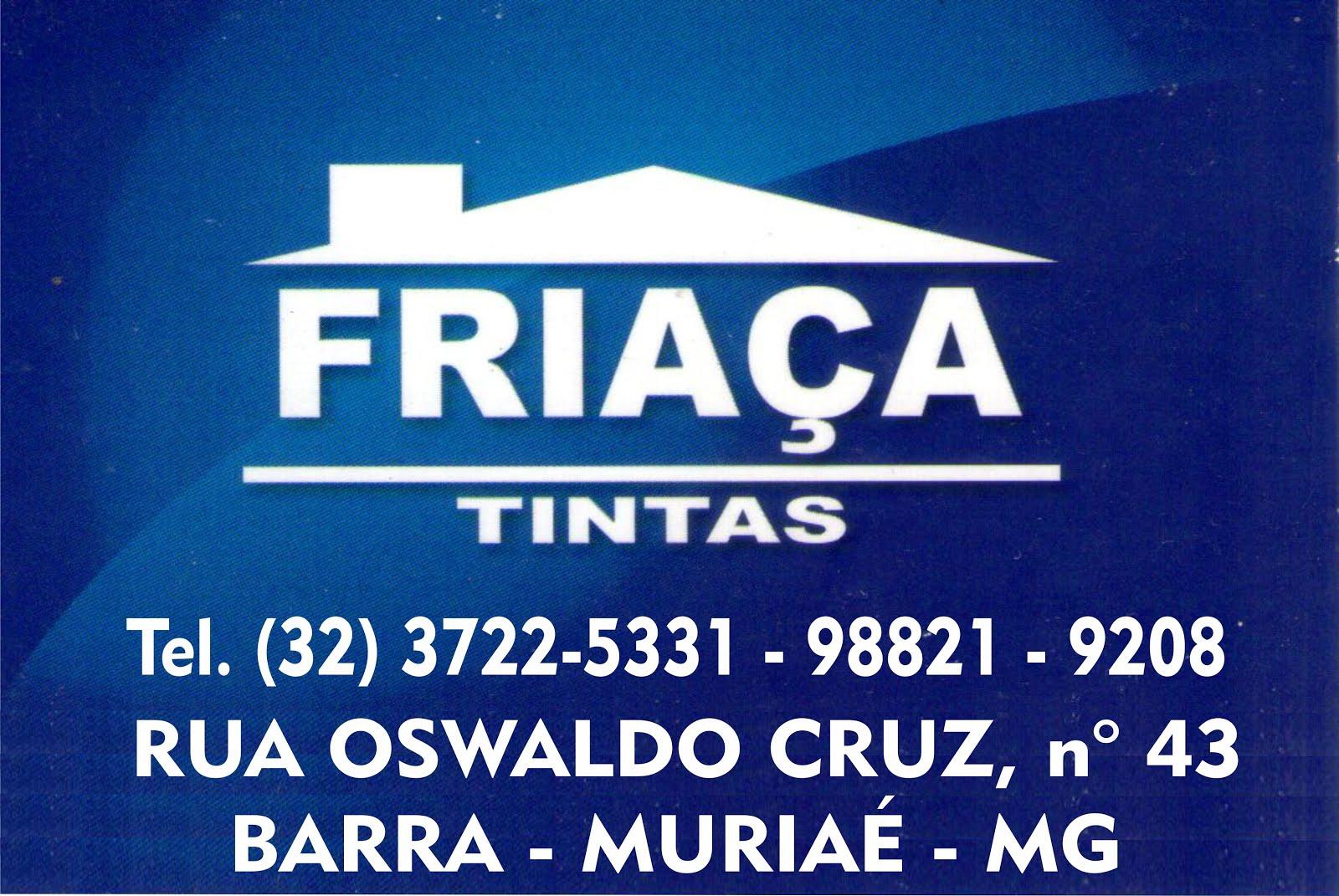FRIAÇA TINTAS