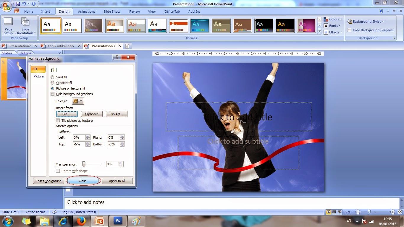 microsoft, powerpoint, presentasi, slide, menarik