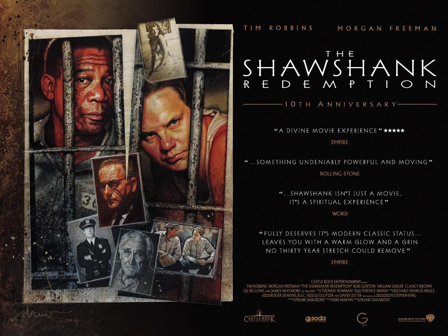 prisoners life in shawshank redemption film studies essay The shawshank redemption filmed in 1994, directed by frank darabont bases a story around the life of prisoners in the shawshank prison the captivating film revolves around the strong friendship that is built between two prisoners, andy dufresne (tim robbins) a smart banker, and red (morgan freeman) a long-term inmate, who becomes andy's closest accomplice.