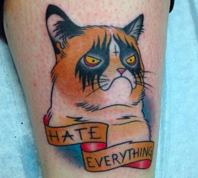 20 Most Beautiful fat Cat Tattoos Design & Ideas