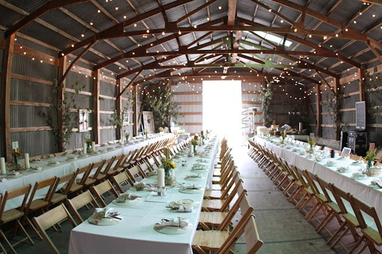 Indiana barn weddings